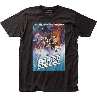 Star Wars The Empire iskee takaisin elokuvajuliste T-paita