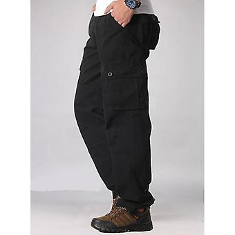 الرجال & apos;ق البضائع عارضة جيوب متعددة, السراويل التكتيكية العسكرية