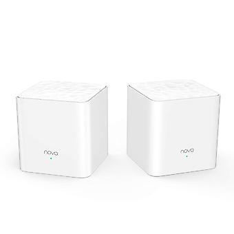 Tenda nova mw3-2 whole home mesh wi-fi system; get rid of wi-fi dead zones; 2500sq² wi-fi coverage,