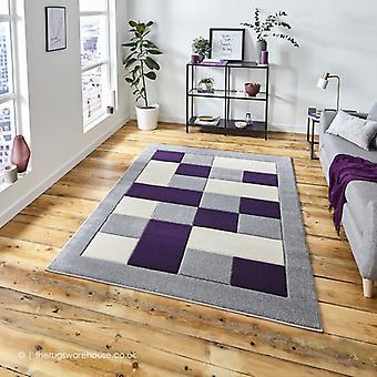 Sutu grå lilla tæppe