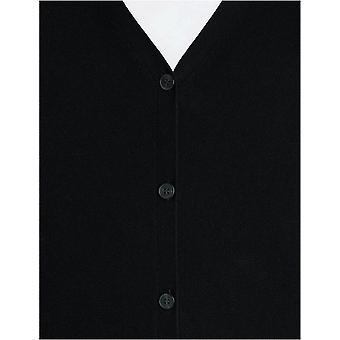 MERAKI Men's Lightweight Cotton V Neck Cardigan Sweater, (Black), XL (US L - ...