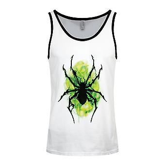 Grindstore Miesten Neon Spider Vest Top