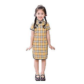 Qipao chinesische neujahr Cheongsam Mädchen Kleid -Stil 1, Säugling