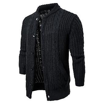 Suéter de algodón para hombre, cuello o de los jerseys