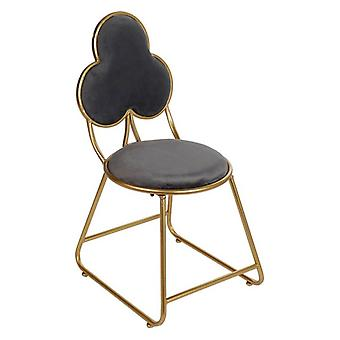 Dining Chair Dekodonia Polyester Metal (46 x 41 x 84 cm)