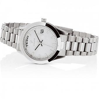Hoops Luxury Steel Watch 2620l-s03 White