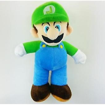 25cm Super Mario Brother Plush Toys Stand Mario & Luigi Soft Stuffed Pelucia Dolls Children Gifts