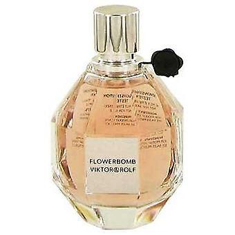 Flowerbomb By Viktor & Rolf Eau De Parfum Spray (tester) 3.4 Oz (women) V728-479625