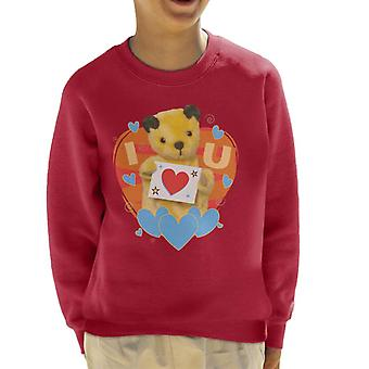 Noki I Heart You Valentines Kid's Collegepaita