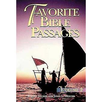Favourite Bible Passages - v. 2 - Study Book by B. Strobbe - 9780687071