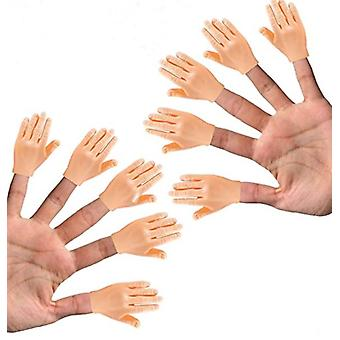 10 Pack Mini Hand Puppet 5 Left And 5 Right Hands