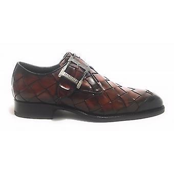 Harris Shoes Buckle Hand weave Largo Moro and Puntina Ocean U17ha66