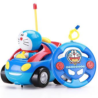 Doraemon Remote Control Car Toy Electric Spring Toy Children's Toy Car