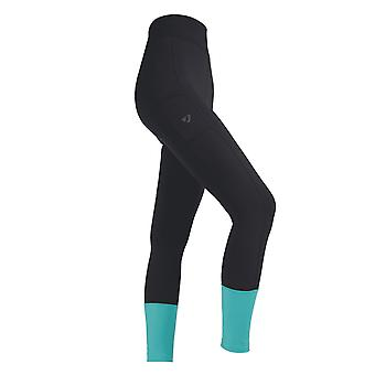 Aubrion Girls Manor Textured Horse Riding Tights