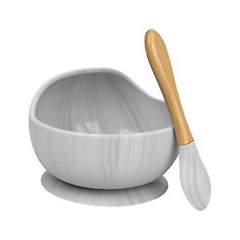 1set silicone bebê alimentação tigela definir pratos sucção tigela conjunto