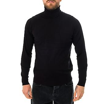 John Richmond sweater hoodwinked men's sweater uma20122.blk