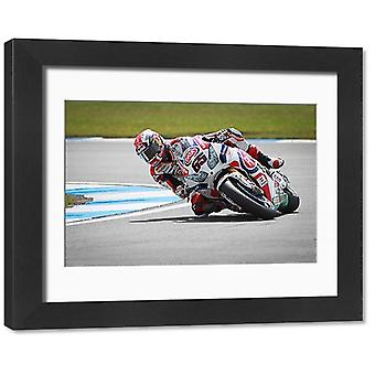 Honda CBR1000RR. Framed Photo. Car Photo Library The Bike Photo Library: Honda.