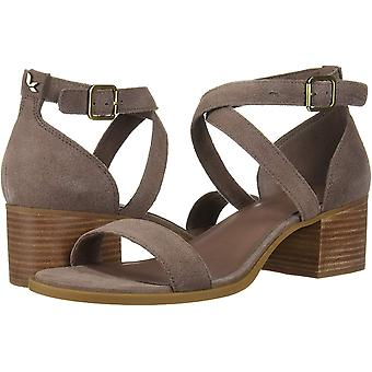 Koolaburra par UGG Womens 1102537 Open Toe Ankle Strap Wedge Pumps