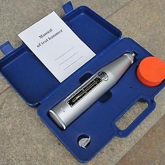 Odraz betónu, test Schmidt Hammer, polymérový resiliometer, testovacie zariadenie
