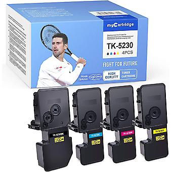 FengChun Kompatibel Kyocera TK-5230 Toner fr Kyocera Ecosys M5521CDN M5521CDW P5021CDN
