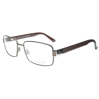 غوتشي النظارات الإطار GG 1942 RQ5 خلات معدنية براون إيطاليا أدلى 55-17-135، 35