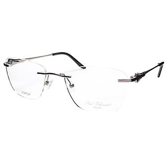 Paul Vosheront Eyeglasses Frame PV501 C02 Gold Plated Acetate Italy 52-18-135 37