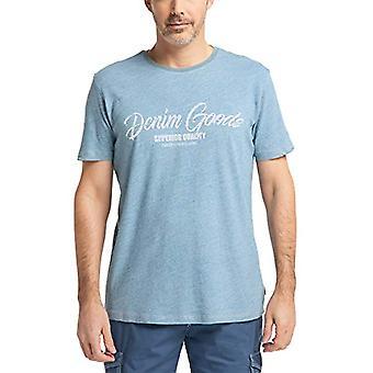 Pioneer T-Shirt Rundhals Denim Indigo, Indigo Blue, M Man