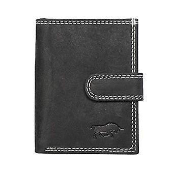 Arrigo Kartenhalter-Mini-Geldborse, Unisex-Adult Wallet, Black, Small