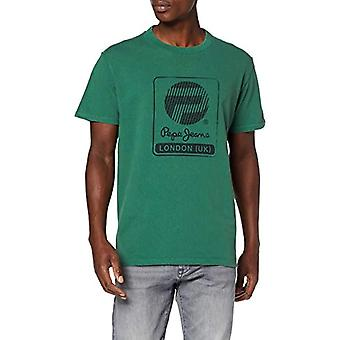Pepe Jeans Jason T-Shirt, (Vintage Green 693), Large Men