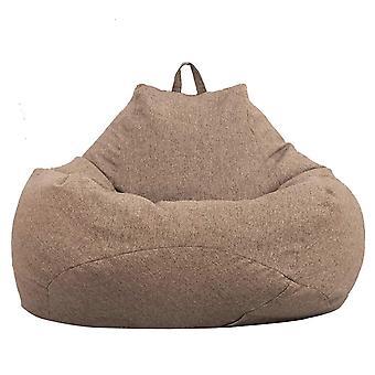 Suuret laiskat sohvat peittävät tuolit ilman täyteainetta Aikuisten papusäkki