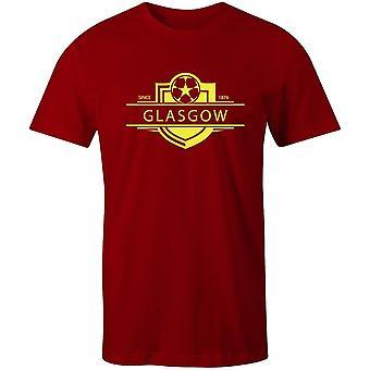 Partick Distel 1876 etabliert Abzeichen Fußball T-shirt