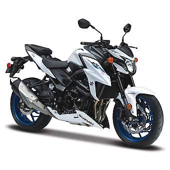 Maisto Motorbike 1:18  Suzuki GSX S750 ABS White