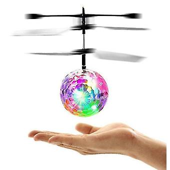 Induction Aircraft Crystal Ball Usb Charging Mini Flying Toy