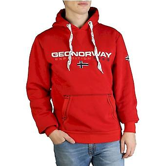 Geographical Norway - Clothing - Sweatshirts - Golivier-man-red - Men - Red - S