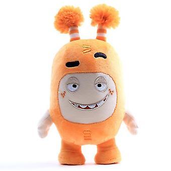 23Cm oranssi oddbods pehmonukke, sarjakuva anime nukke az7726