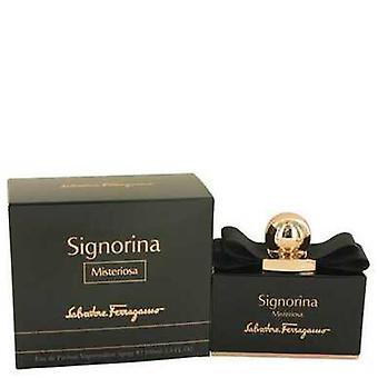 Signorina Misteriosa By Salvatore Ferragamo Eau De Parfum Spray 3.4 Oz (women) V728-533968