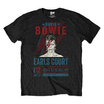 David Bowie Earls Court '73 Official Tee T-Shirt Unisex