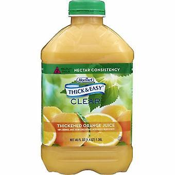 Hormel Thickened Beverage, Orange Juice Flavor, 46 Oz