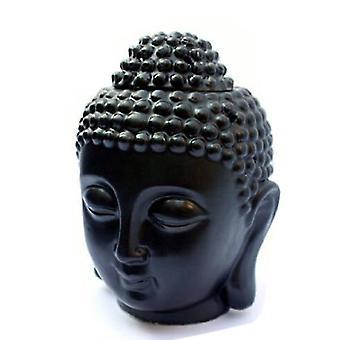 Thaise Boeddha oliebrander Buddah hoofd wax smelt ornament spa keramische thee licht gift