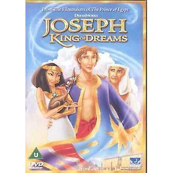 Joseph King of Dreams DVD (2001) Rob La Duca cert U Regio 2