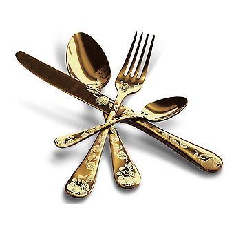 Mepra Venere Oro 5 pcs flatware set