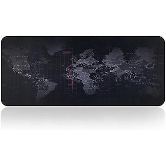 Gaming Mouse Mat Pad World Map Print