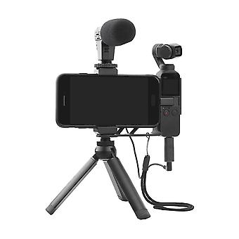 Suitable For Dji Osmo Pocket Camera 1/2 Universal Audio Converter Adapter