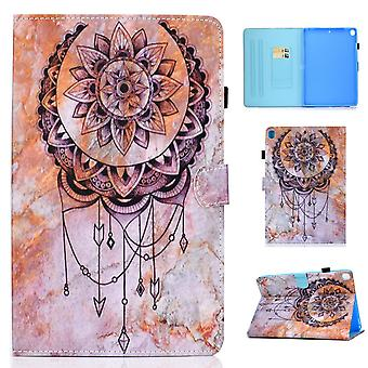 Case For Ipad 9 10.2 2021 Cover With Auto Sleep/wake Pattern Magnetic - Dreamcatcher