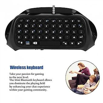 Wireless Bluetooth Keyboard Accessory Adapter For Sony For Ps4 Controller