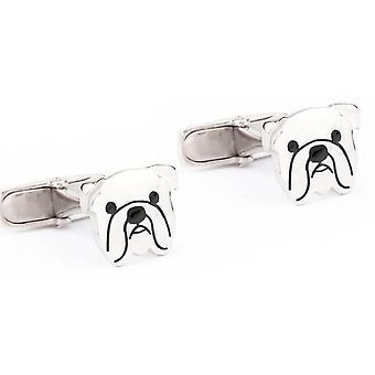 Jack & co pets - english bulldog cufflinks juc0004