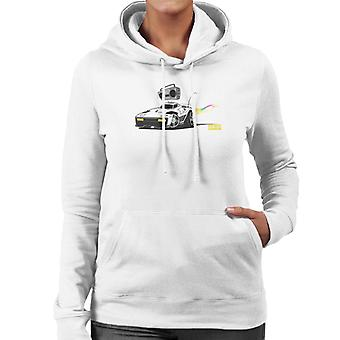 Rocket League Breakout Boombox Kvinnors Hooded Sweatshirt