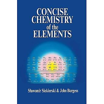 Concise Chemistry of the Elements