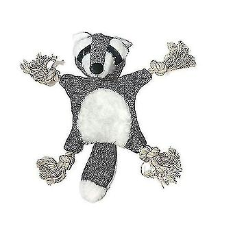 Koiran muhkea lelu orava kettu muoto soivan paperin lemmikkieläinten tarvikkeet (GRAY)
