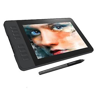 Hd Graphics Drawing Display Digital Tablet Monitor Avec 8 touches raccourcies &